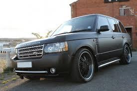 range rover matte black enkahnz platinum range rover rdb