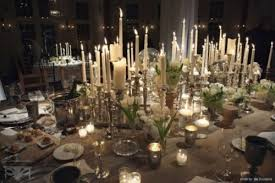 Christmas Wedding Table Decoration by