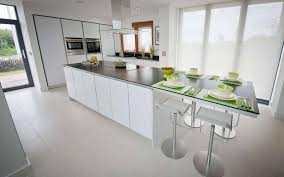 breathtaking modular island kitchen featuring white color kitchen