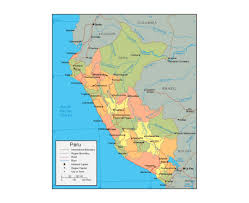 Amazon River World Map by Maps Of Peru Detailed Map Of Peru In English Tourist Map