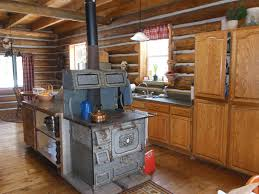 life at providence lodge log home tour part 2 kitchen
