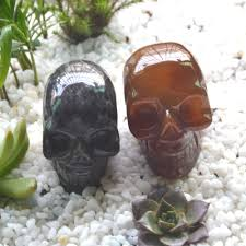 aliexpress com buy natural crystal skull home decorations feng