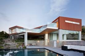 2 house with pool 2 level home with pool protrudes from cliff