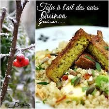 cuisine doria salade doriane au tofu à l ail des ours doria cuisine