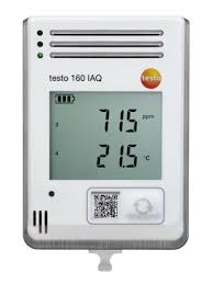 how save a testo 0572 2014 testo 160 iaq air quality meter with data logging