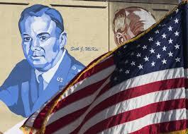 Misouri Flag Photo Gallery Gen Seth Mckee Mural Added To Missouri Wall Of