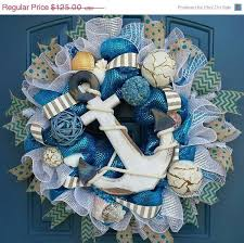 214 best beachy nautical images on wreaths