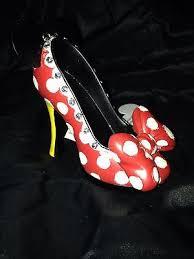 new disney parks minnie mouse shoe ornament picclick