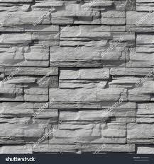 granite gray decorative brick wall stock photo 112690079