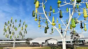 mini turbine wind trees could generate power for homes electric