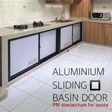 kitchen cabinet sliding doors aluminum sliding door for concrete kitchen sink stove support