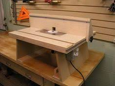 vertical horizontal router table build woodworking talk