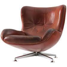 Red Leather Swivel Chair by Brown Swivel Chair Amazing Chairs
