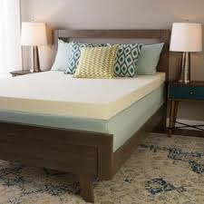 size king memory foam mattress toppers shop the best deals for