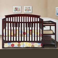 Delta Crib And Changing Table Delta Walden Combo Crib Changer In Espresso Java Free Shipping