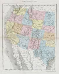 Old United States Map by Western Us Map My Blog Western United States Map Royalty Free