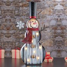 Costco Lighted Snowman by Led Marquee 2ft 1