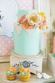 kitchen tea cake ideas vintage floral high tea bridal shower hostess with the mostess