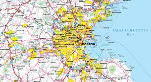 Map Boston Area by Transreport July August 2016