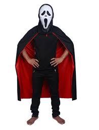 halloween vampire cloak dress 140cm black red costume for