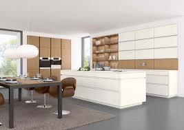 cuisine bois et blanc laqué cuisine en laque ilot concept 40 fs rangeval vente de