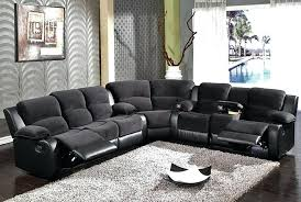 Sectional Sofa Reclining Various L Shaped Sectional Sofa With Recliner Large On Reclining