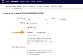 ls online promo code coupons discount options promo codes chargebee docs
