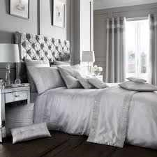 Bed Linen And Curtains - luxury diamante duvet quilt cover bedding bed linen set or