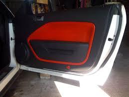 mustang door panel custom door panels ford mustang forum