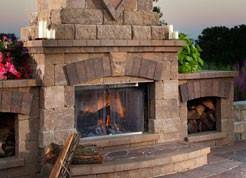 Belgard Brighton Fireplace by The Hardscape Exchange Northern Va Pavers Patios Hardscapes
