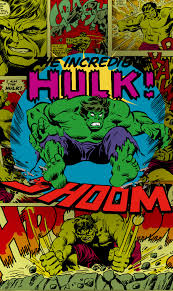 panel marvel comics the incredible hulk shoom
