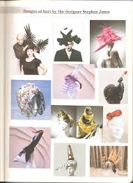 research work on hats from sketchbook fortuna dey fashion design