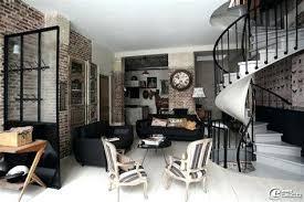 chambre style loft idee deco loft industrial style decoration idee deco loft idee deco