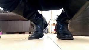 black leather zara man spanish riding boots play finale youtube