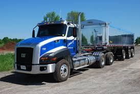 cat ct660 tri axle dump truck heavyhauling cat ct660 dump