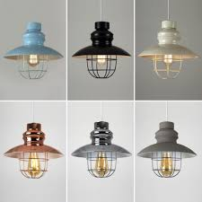 Retro Pendant Light Shades Contemporary Pendant Lights Industrial Pendant Lighting Cage
