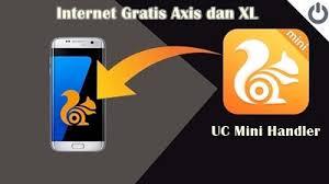 bug axis hitz 2018 cara setting uc mini handler axis hitz terbaru 2018