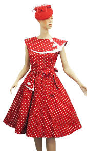 1950s Clothes For Kids Retro 1950s Polka Dot Dresses For Sale