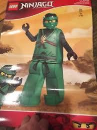 Lego Ninjago Halloween Costumes Lego Ninjago Halloween Costume Size 7 8 Ebay