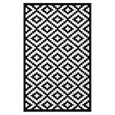 Black And White Outdoor Rug Black And White Outdoor Rugs