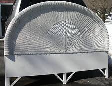 wicker headboard ebay