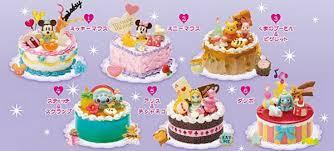 re ment miniatures disney party happy birthday cake set of 6