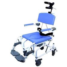 Jerry Chair Wheelchair Ezee Life Tilt Rehab Shower Commodes With 24 Wheels Lightweight