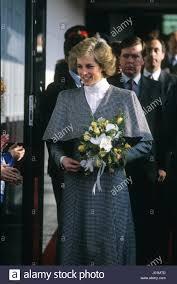 november 2 1988 princess diana visting the nec factory followed by