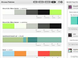 trending color palettes 5 free tools everyone designing a business card should be using
