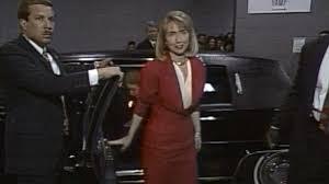 thanksgiving day 1992 watch hillary clinton u0027s grand entrance at 1992 dnc nbc news