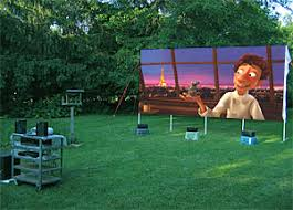 Backyard Outdoor Theater by Astonishing Ideas Backyard Theater Systems Prohd Outdoor Movie