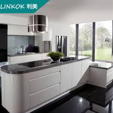 linkok furniture wooden grain assemble package kitchen design