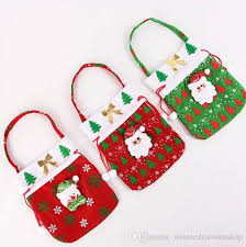 christmas gift bag small jute drawstring christmas gift bag hot fashional