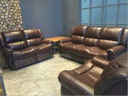 Recliner Leather Sofa Set Recliner Leather Sofa Set Catosfera Net